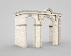 3D model architectural Architectural Element