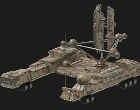 Radar Rover 3D asset