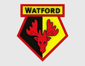 Watford Logo 3D model