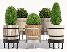 3D model Krokben garden