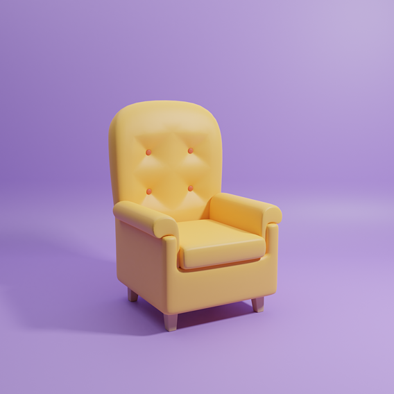 Lowpoly Chair