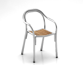 PEDRALI SOUL Chair outdoor furniture 3D model