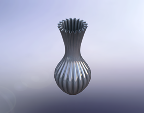 blossom Flower Vase 3D print model