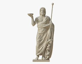 3D model Asclepius the God of Healing
