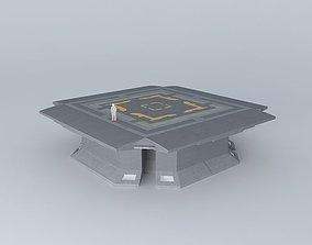 3D model Simple Helipad