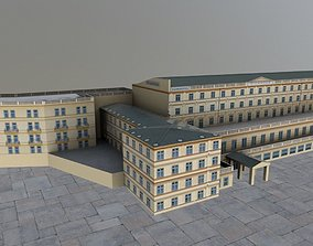 3D asset Karlovy Vary Hotel Richmond