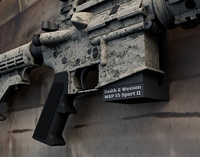3D printable model Floating Wall Mount Smith and Wesson