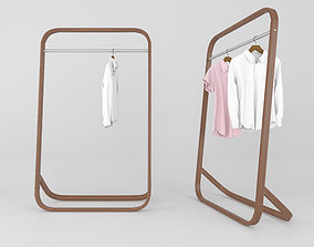 standing 3D Clothes Rack