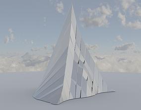 3D asset Silver Peak Structure 2nd Version