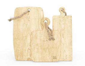 Cutting boards 3D model