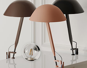3D Sempe Clamp Table Lamp by Wastberg