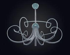 Retro Hanging Lamp 3D