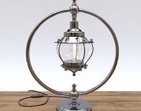 Table Lamp Ringo Metal-51093 3D model
