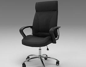 3D model Office Chair Black