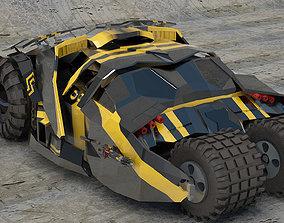 Bat Mobile vehicle From Batman 3D print model