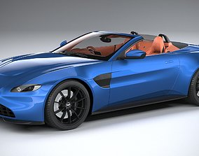 Aston Martin Vantage Roadster 2021 3D