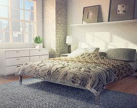 bedroom 3D asset realtime