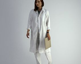 scanned 3D Scan Woman Doctor 007