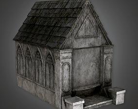 3D asset Cemetery Mausoleum 7 CEM - PBR Game Ready