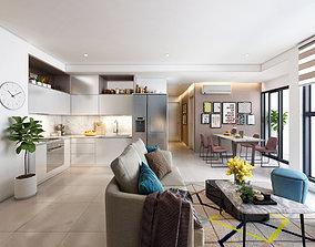 3D P Livingroom Interior A1