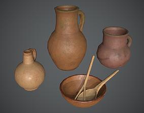 3D model realtime Jars Medieval