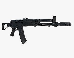 Assault rifle AEK 971 3D