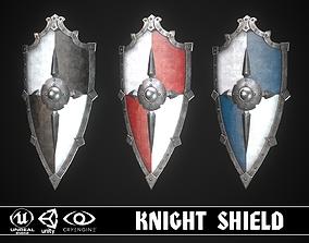 Knight Shield 08 3D asset