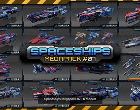 3D model Spaceships Megapack 07