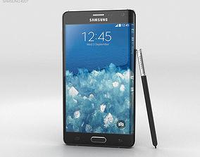 Samsung Galaxy Note Edge Charcoal Black 3D