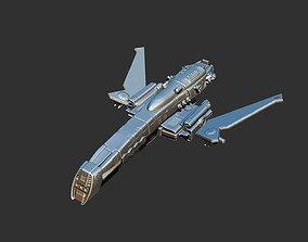 moon Spaceship 3D print model