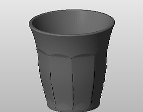 3D dura tumbler suitable for printing dining-table