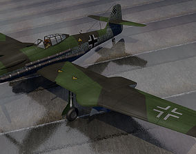 3D model Blohm und Voss Bv-155v-1