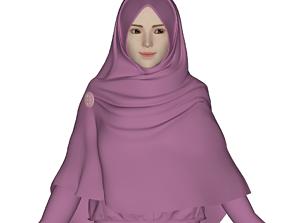 Hijab Model 1