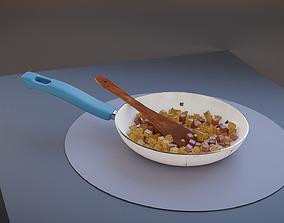 3D Potato Sausage Hash Pan