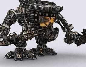 animated game-ready 3DRT - Mech robot engineer - 05