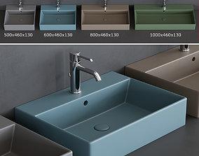 Ceramica Cielo Smile Washbasins 3D asset