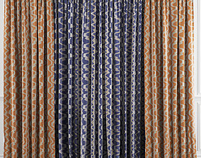 3D Curtain Set 36