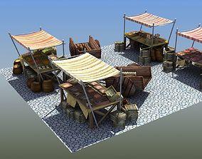 3D model stall Market