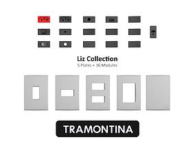 Tramontina Liz Collection Fendi 3D model