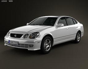 3D model Lexus GS S160 2004