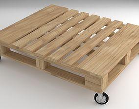 Pallet Table 3D