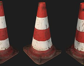 3D model Cone - Low Poly - Photogrammetry