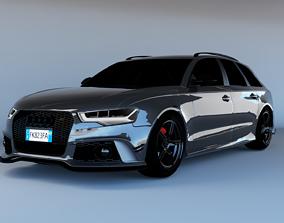 Audi RS6 3D model
