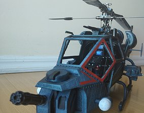 Blue Thunder RC helicopter 450 size 3D print model