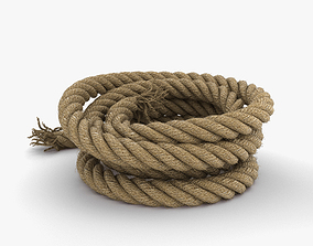 The Rope 3D model