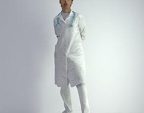 3D Scan Man Doctor 028 male
