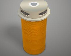 Microphone - Clockaudio CRM 200 SNRF 3D asset