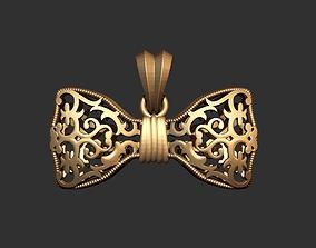 Tie Pendant 3D Model