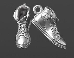 converse 3D print model sneakers