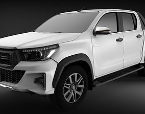 3D Toyota Hilux Rocco 2019